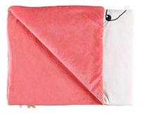 Noukie's Deken voor wieg of park Amy & Zoé ecru/roze polyester-Artikeldetail