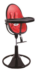 Bloom Eetstoel Fresco Chrome black frame rock red-Artikeldetail