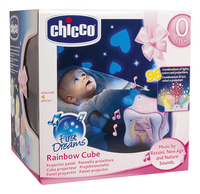 Chicco Projector Rainbow Cube First Dreams roze-Vooraanzicht