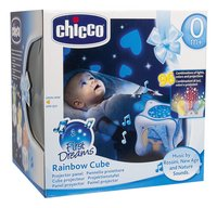 Chicco Projector Rainbow Cube First Dreams blauw-Vooraanzicht