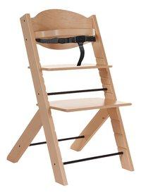 Treppy Chaise haute avec coussin réducteur gratuit naturel-Détail de l'article