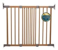 BabyDan Barrière de porte et d'escalier Elin Wood bois naturel-Avant