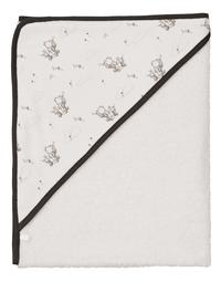 bébé-jou Disney Baby Cape de bain Wishing Pooh blanc Lg 75 x L 85 cm