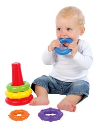 Playgro Stapelringen Sort and Stack Tower-Afbeelding 1