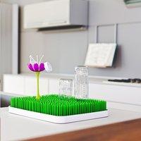 Boon Fleur pour égouttoir Grass Stem lilas-Image 1