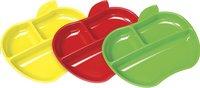 Munchkin Bord met vakken geel/rood/groen - 3 stuks-Vooraanzicht