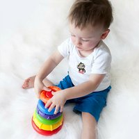 Playgro Stapelringen Sort and Stack Tower-Afbeelding 3