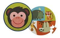 Crocodile Creek Puzzel Monkey Friends -Vooraanzicht