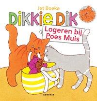 Livre pour bébé Dikkie Dik Logeren bij Poes Muis
