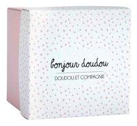 Doudou et Compagnie Doudou Lapin rose-Côté gauche