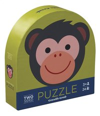 Crocodile Creek Puzzel Monkey Friends -Linkerzijde