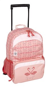 Lässig sac à dos à roulettes Mini Flamant rose-commercieel beeld