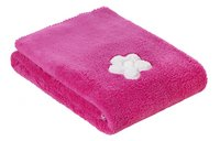 Bemini Couverture pour berceau ou parc Lizie pompon fleece softy