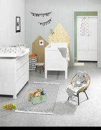 Troll 3-delige babykamer met kast met 2 deuren Lukas