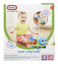 Little Tikes Lil' Ocean Explorers Crawl 'n Pop! Turtle-Achteraanzicht