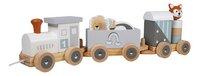Tryco Houten Speelgoedtrein met diertjes-Linkerzijde