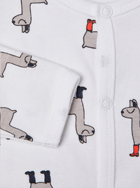 Name it Pyjama Lama bright white/grey - 2 stuks maat 68-Artikeldetail