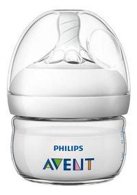 Philips AVENT Biberon Natural transparent 60 ml-commercieel beeld