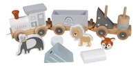 Tryco Houten Speelgoedtrein met diertjes-Artikeldetail