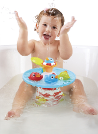 Yookidoo Jouet de bain Musical Duck Race-Image 1