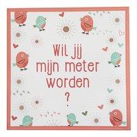 Minimou Sticker Birdy Wil jij mijn meter worden?