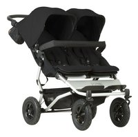 Mountain Buggy Poussette double Duet V3 black