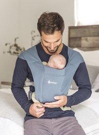 ERGObaby Porte-bébé ventral Embrace oxford blue-Image 1