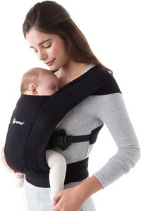 ERGObaby Buikdrager Embrace pure black-Afbeelding 2