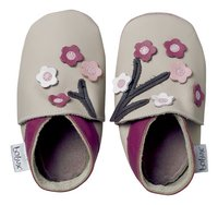Bobux Chaussons Soft sole Blossom Flowers beige pointure 16/ 17