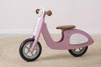 Little Dutch Houten loopfiets roze-Afbeelding 1