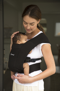 ERGObaby Buikdrager Embrace pure black-Afbeelding 7