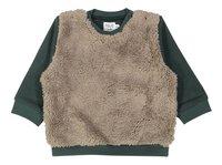 Feliz by Filou Sweater fur groen-Vooraanzicht