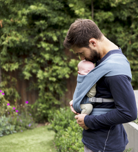 ERGObaby Porte-bébé ventral Embrace oxford blue-Image 4