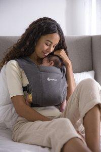 ERGObaby Porte-bébé ventral Embrace heather grey-Image 4