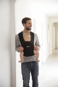 ERGObaby Buikdrager Embrace pure black-Afbeelding 6