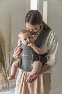 ERGObaby Porte-bébé ventral Embrace heather grey-Image 6