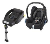 Maxi-Cosi Draagbare autostoel CabrioFix Groep 0+ black raven + Basis EasyFix