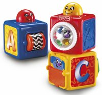 Fisher-Price Blocs à empiler Stacking Action Blocks - 3 pièces