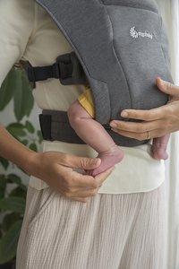 ERGObaby Porte-bébé ventral Embrace heather grey-Détail de l'article