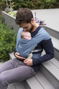ERGObaby Porte-bébé ventral Embrace oxford blue-Image 3