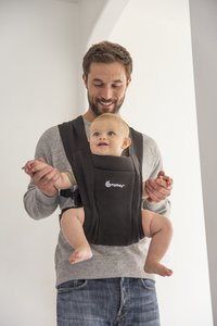 ERGObaby Buikdrager Embrace pure black-Afbeelding 3