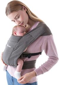 ERGObaby Porte-bébé ventral Embrace heather grey-Image 3