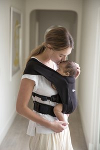 ERGObaby Buikdrager Embrace pure black-Afbeelding 5