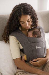 ERGObaby Porte-bébé ventral Embrace heather grey-Image 5