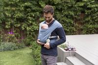 ERGObaby Porte-bébé ventral Embrace oxford blue-Image 8