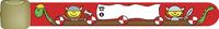 Infobandje rood met vikingschip