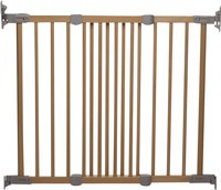 BabyDan Barrière d'escalier Flexi Fit Wood naturel