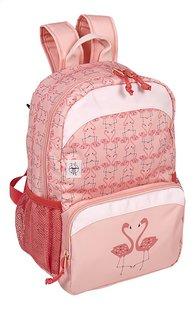 Lässig sac à dos à roulettes Mini Flamant rose-Côté gauche