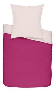 Dreambee Housse de couette pour lit Essentials rose/rose clair  coton
