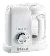 Béaba Cuiseur vapeur-mixeur Babycook Solo blanc/argent-Côté gauche